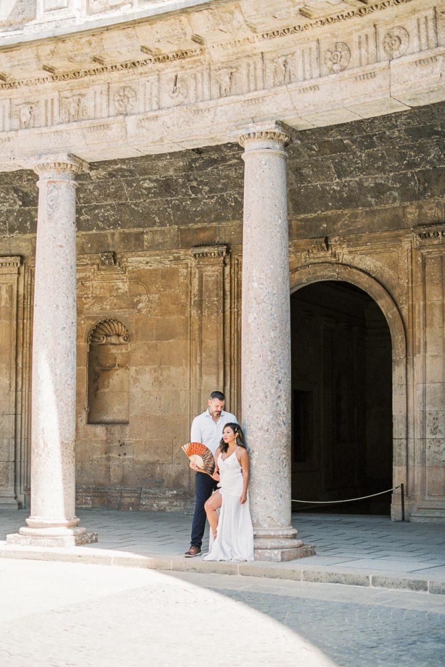 Pre Wedding Europe | Fine art Photographer Spain Granada Alhambra